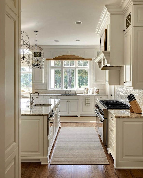 Antique Cabinets Kitchen: White Dove Kitchen Cabinets