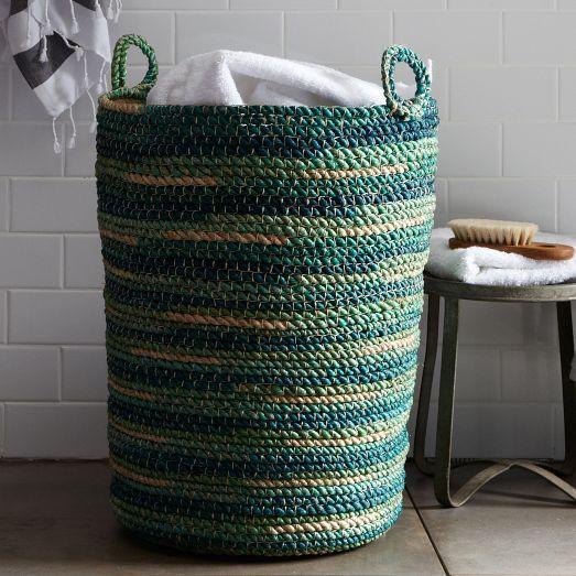 decorative wall baskets west elm.htm space dyed laundry basket west elm  space dyed laundry basket west elm