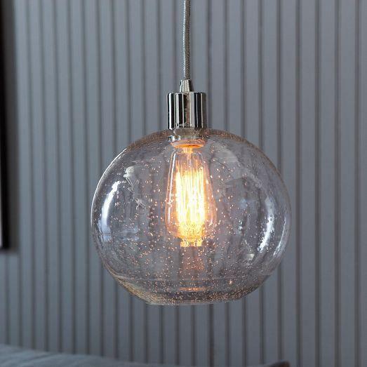 Seeded Glass Shade | west elm