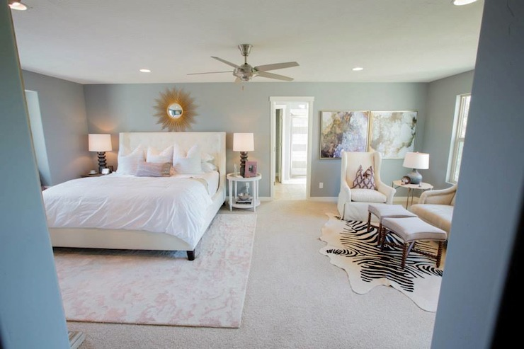 Bedroom Sitting Area - Transitional - bedroom - Henry Walker Homes