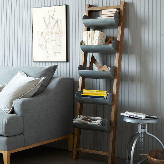 West Elm Wall Decor conveyor wall shelf - west elm