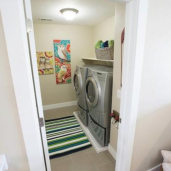 Second Floor Laundry Room Design Ideas