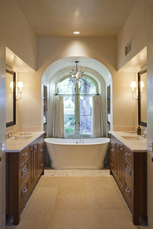 bathtub alcove eclectic bathroom wolfe rizor interiors