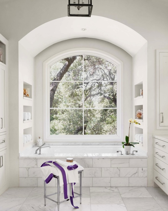 Alcove Bathtub Transitional Bathroom Ryan Street And