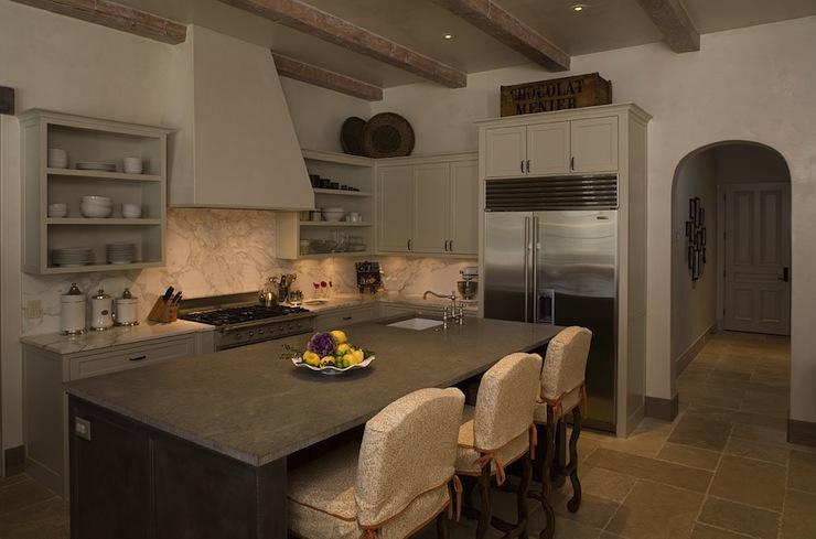 Greige Cabinets Design Ideas
