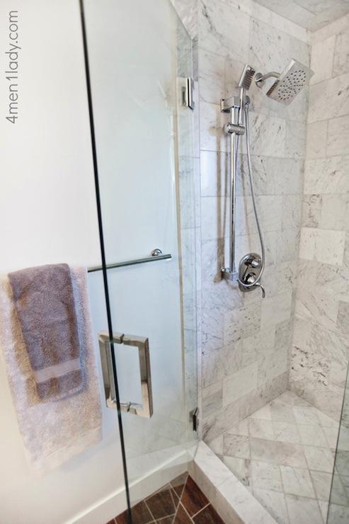 Moen Shower Faucet - Transitional - bathroom - Benjamin Moore ...