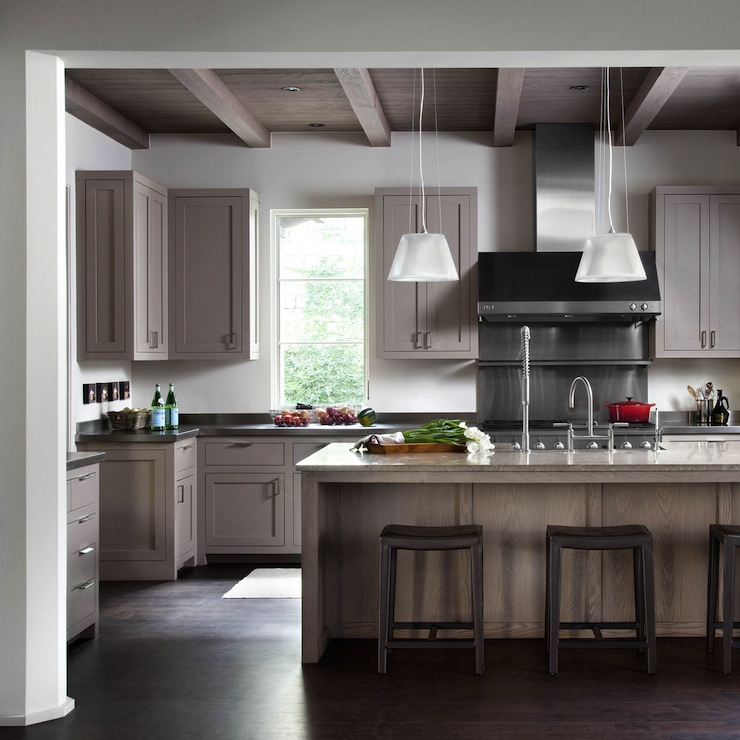 Gray Wood Flooring Kitchen: Ryan Street And Associates