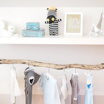 Branch Clothes Rod, Transitional, nursery, Habitat and Beyond