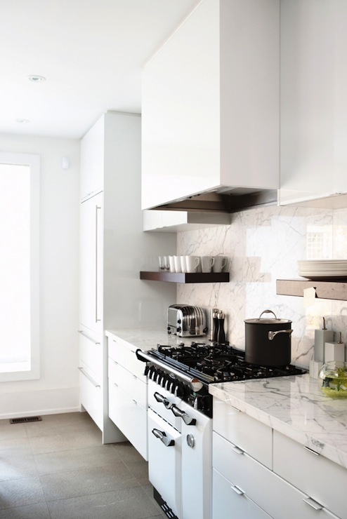 White Lacquered Cabinets