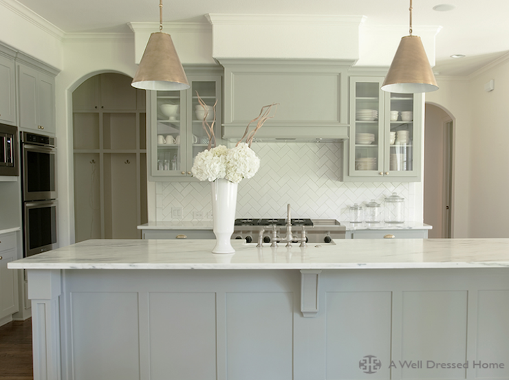 kitchen  Para Paints Mennonite Grey  Sarah Richardson Design