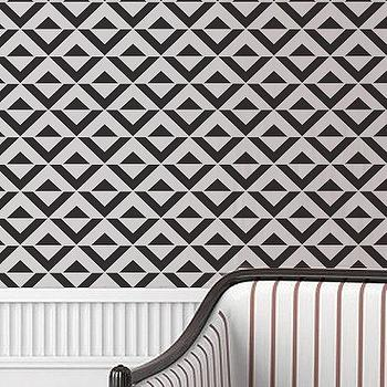 Chevron wall stencil large stencil to paint by for Chevron template for walls