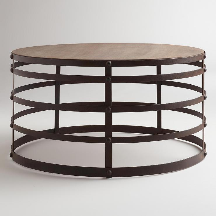 World Market Round Coffee Table Coffee Table World Market