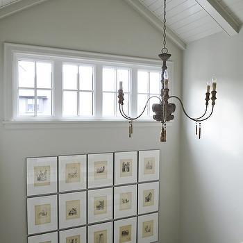 More Code Art - Cottage - Entrance/foyer - Kelly Nutt Design