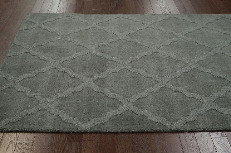 hacienda outdoor trellis gray rug