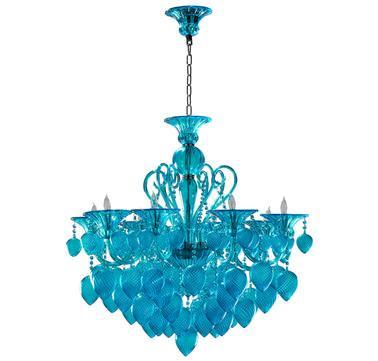 Design bella vetro aqua chandelier i lightsonline cyan design bella vetro aqua chandelier i lightsonline aloadofball Gallery
