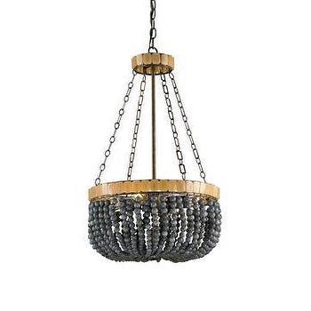 Currey & Company Lana 4-Light Chandelier I LightsOnline.com