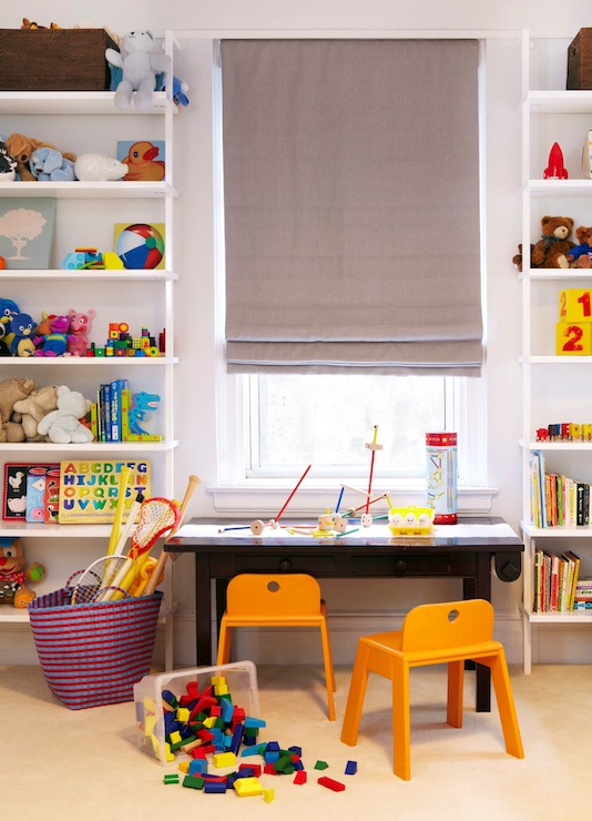 Kids Bookshelf Contemporary Boy S Room Hgtv