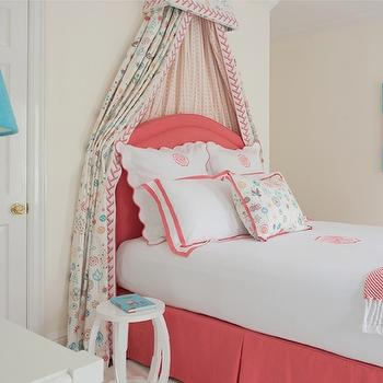 Princess Canopy Bed Transitional Girl S Room Anne