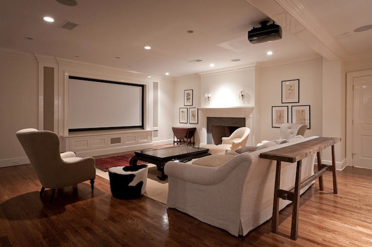 Basement Movie Room Design Decor Photos Pictures