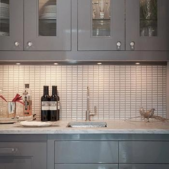 High Gloss Kitchen Cabinets, Contemporary, kitchen, JCS Construction