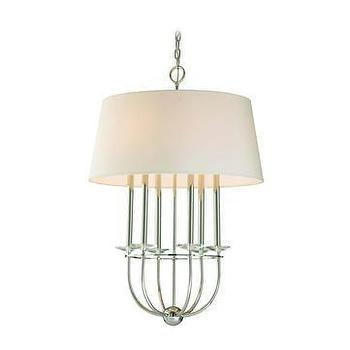 Polished Nickel Pendant Light Pottery Barn Kids