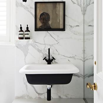 Black And White Sink