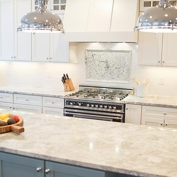Captivating White Granite Countertops