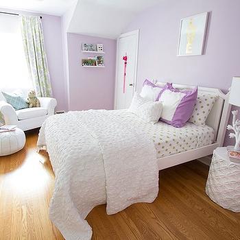 Purple Girls Bedroom, Contemporary, girl's room, Jana Bek Design