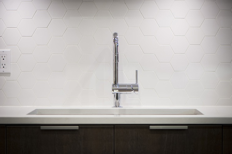 Hex Backsplash view full size