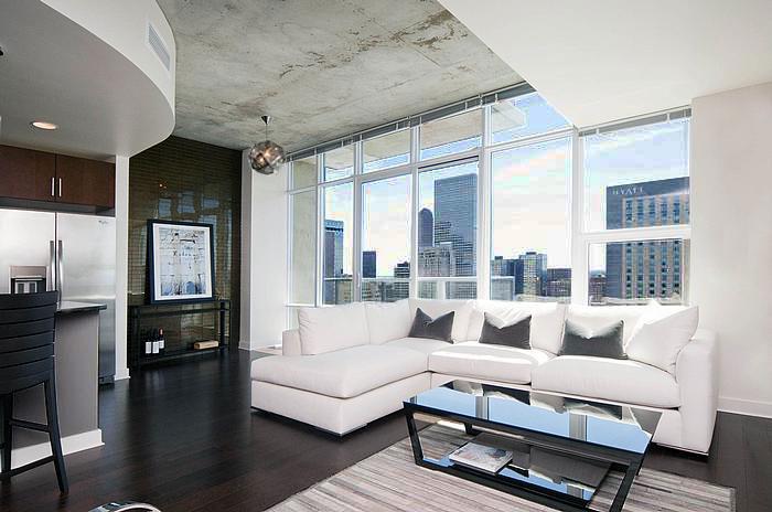 Contemporary Living Room Benjamin Moore Cape May