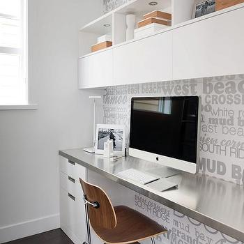 Stainless Steel Home Office Wall Decor