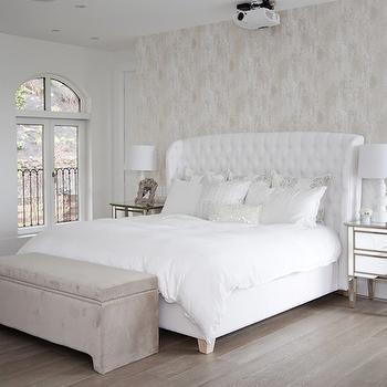 osborne and little boa wallpaper contemporary bedroom