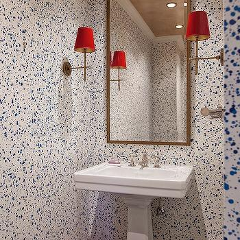 hinson and co paint splatter wallpaper contemporary
