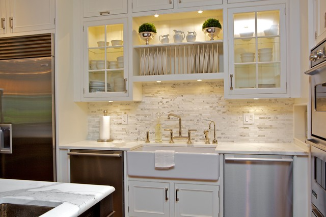 Plat Rack Over Sink Transitional Kitchen Susan Glick