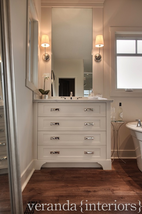 Bathroom Vanity Kick Plate toe kick drawer storing pet bowls design ideas