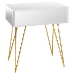 Arteriors Home Oswald Solids Glass End Table Wayfair