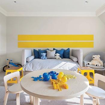 Horizontal Wall Stripes Design Ideas