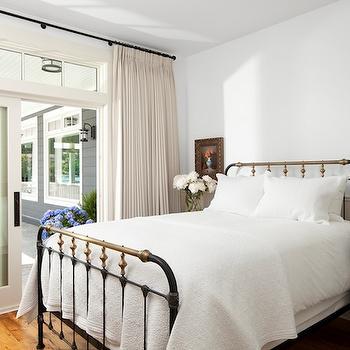 Turquoise Nightstand, Cottage, bedroom, Jodi Foster