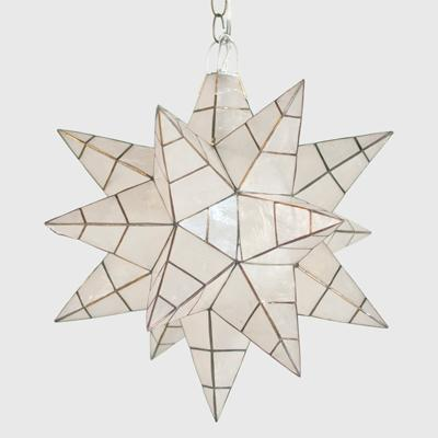 Reed Star Pendant Pottery Barn