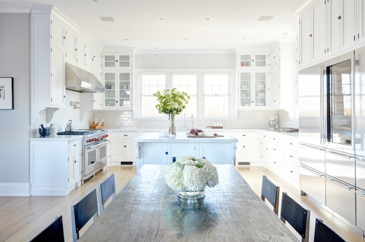 U Shaped KItchen Ideas - Transitional - kitchen - Tamara Magel on kitchens without upper cabinets, dining room cabinets, u-shaped outdoor kitchens, breakfast room cabinets, l-shaped corner cabinets, chrome edging trim for cabinets, u-shaped living room furniture, living room cabinets, powder room cabinets, foyer cabinets, l-shaped hinges for cabinets, u-shaped restaurant booths,