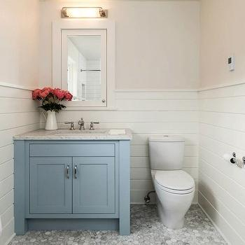 Blue Bathroom Vanity, Transitional, bathroom, JAS Design Build