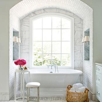 Bathtub Alcove, Transitional, bathroom, Mark Williams Design