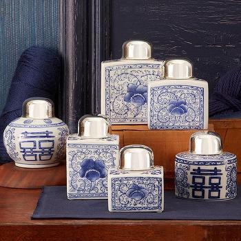Mosaic Tall Cloisonn 195 195 194 169 Tea Jar Tozai Home Twos