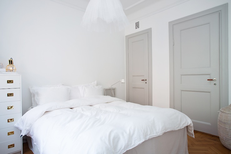 Gray Doors & Gray Doors - Contemporary - bedroom - Per Jansson