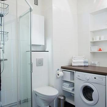 Bathrooms u shape laundry room design ideas for U shaped bathroom design