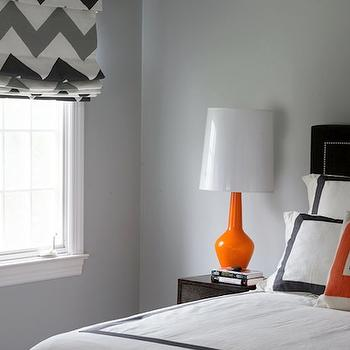 Chevron Window Treatments, Contemporary, boy's room, Morgan Harrison Home