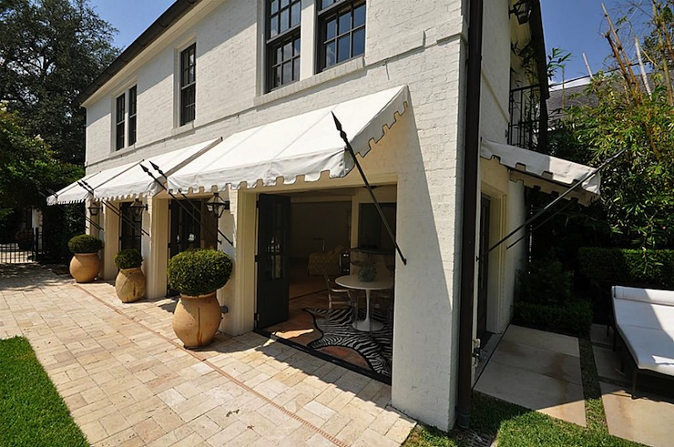 awning ideas transitional deck patio har