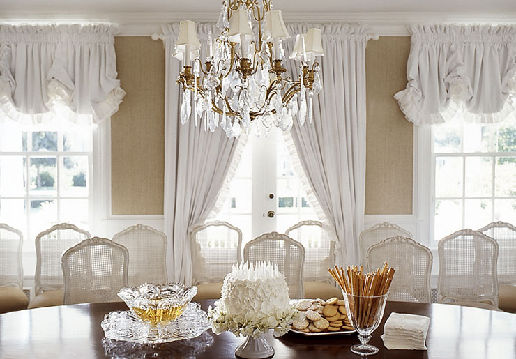 View Full Size French Dining Room