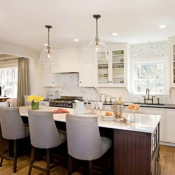 Kitchen Island with Beadoard Trim, Transitional, kitchen, Venegas and Company