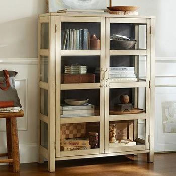 Dylan Glass Cabinet, Pottery Barn